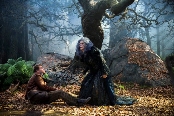 Into the Woods movie James Corden, Meryl Streep