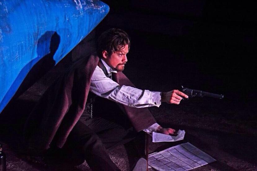 assassins musical, aaron tveit, menier chocolate factory london