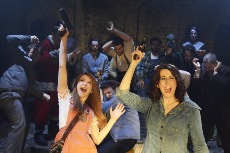 assassins musical, menier chocolate factory london, carly bawden, catherine tate
