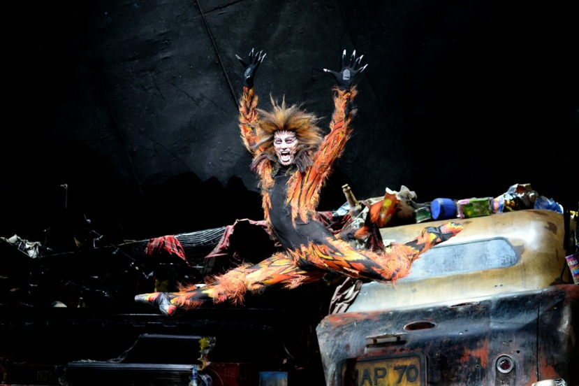 Cats, London Palladium, Cameron Ball as Macavity