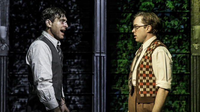 City of Angels, Donmar Warehouse, Tam Mutu, Hadley Fraser