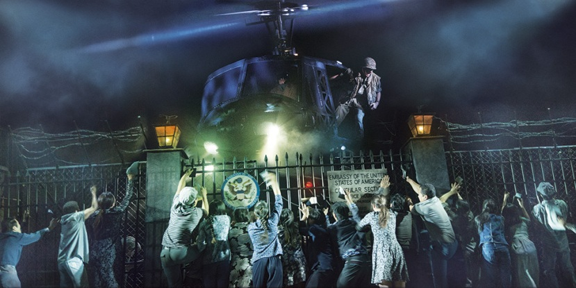 Miss Saigon, helicopter