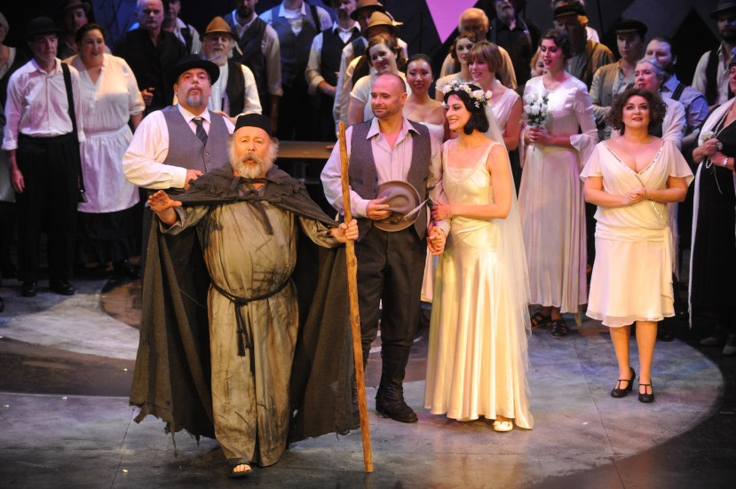 Der Freischütz, Melbourne Opera, Manfred Pohlenz, Roger Howell, Jason Wasley, Sally Wilson, Andrea Creighton