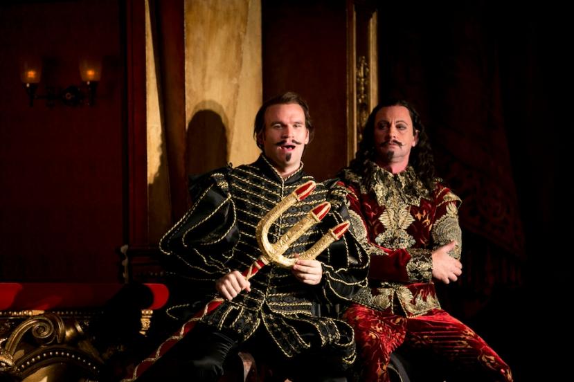 Faust Opera Australia, Michael Fabiano (Faust), Teddy Tahu Rhodes (Mephistopheles)