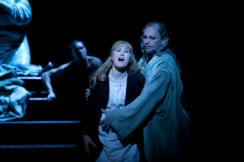 Faust Opera Australia, Nicole Car (Marguerite) & Teddy Tahu Rhodes (Mephistopheles)