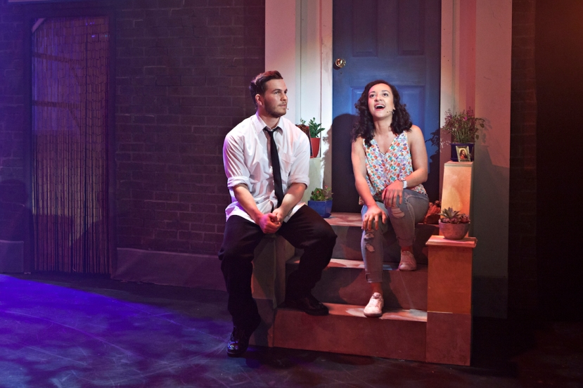In The Heights 2015 Melbourne, James Elmer, Anna Francesca Armenia
