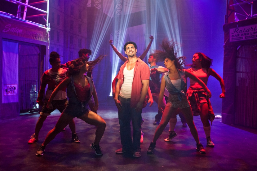 In The Heights 2015 Melbourne, Stephen Lopez, company