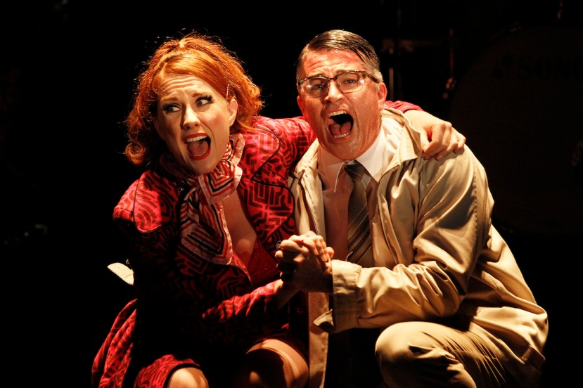Sweet Charity 2015 Verity Hunt-Ballard and Martin Crewes