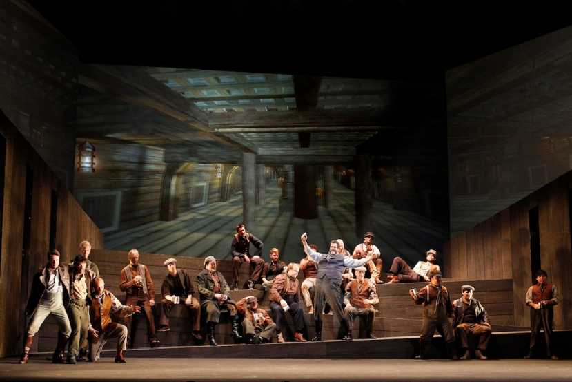 The Flying Dutchman, Victorian Opera, Carlos E Barcenas, Victorian Opera Chorus