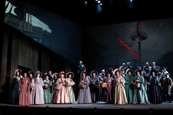 The Flying Dutchman, Victorian Opera ensemble