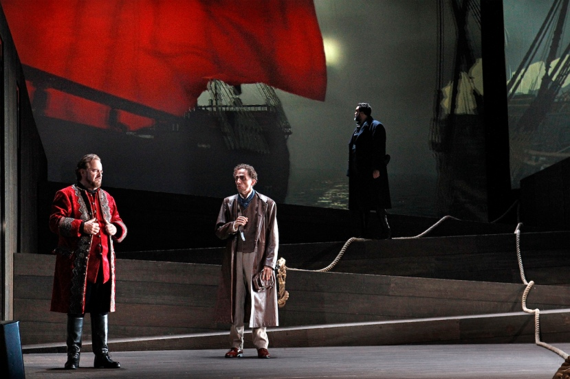 The Flying Dutchman, Victorian Opera, Oskar Hillebrandt, Warwick Fyfe, Carlos E Barcenas