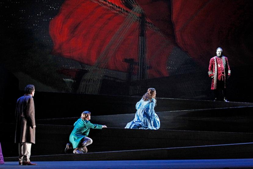 The Flying Dutchman, Victorian Opera, Warwick Fyfe, Bradley Daley, Lori Phillips, Oskar Hillebrandt