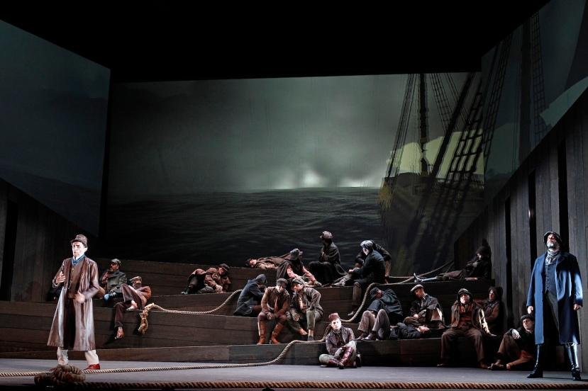 The Flying Dutchman, Victorian Opera Warwick Fyfe, Carlos E Barcenas