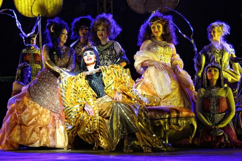 Aida 2015 Handa Opera on Sydney Harbour, Miljana Nikolic as Amneris