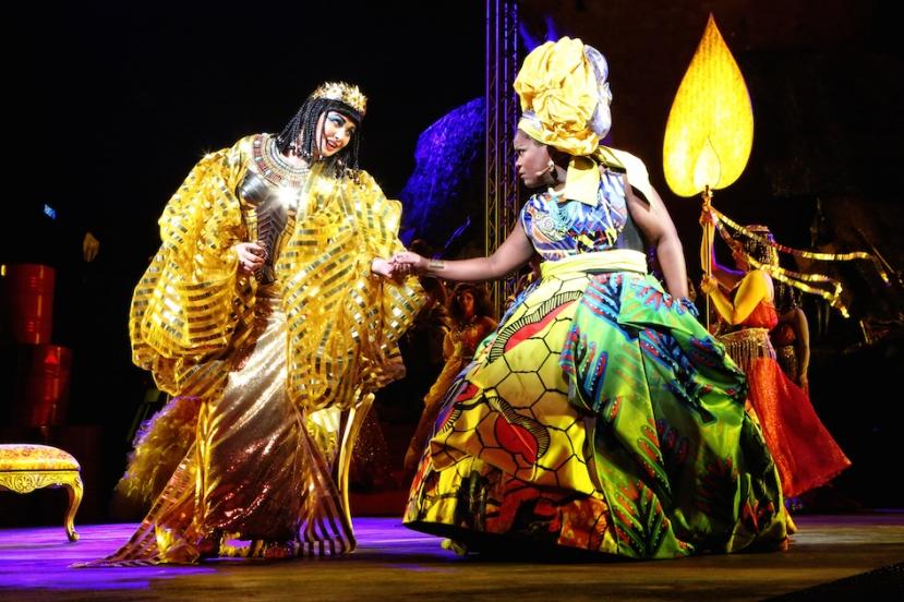 Aida 2015 Handa Opera on Sydney Harbour, Miljana Nikolic, Latonia Moore