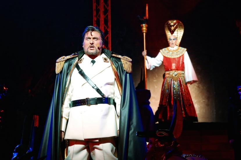 Aida 2015 Handa Opera on Sydney Harbour, Waler Fraccaro, David Parkin