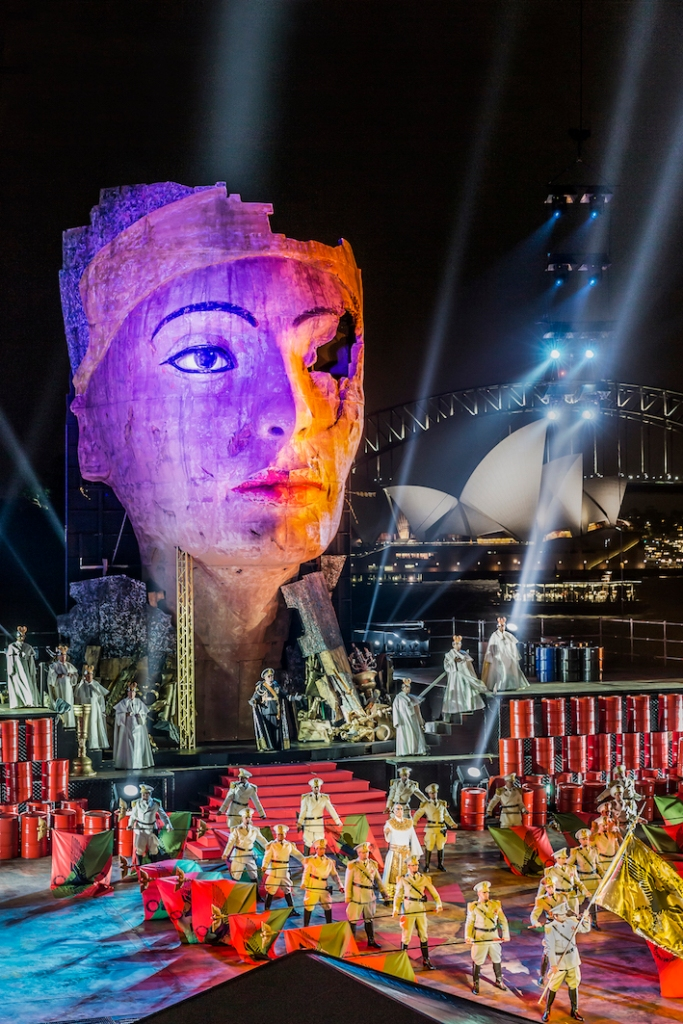 Aida 2015 Handa Opera on Sydney Harbour,
