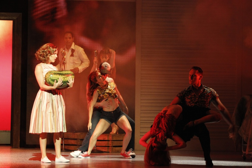 Dirty Dancing musical 2015 Australia, Kirby Burgess (Baby) and Ensemble