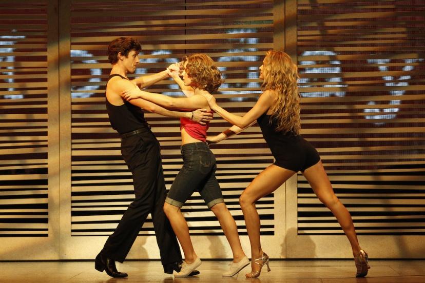 Dirty Dancing musical 2015 Australia, Kurt Phelan (Johnny), Kirby Burgess (Baby), Nadia Coote (Penny)