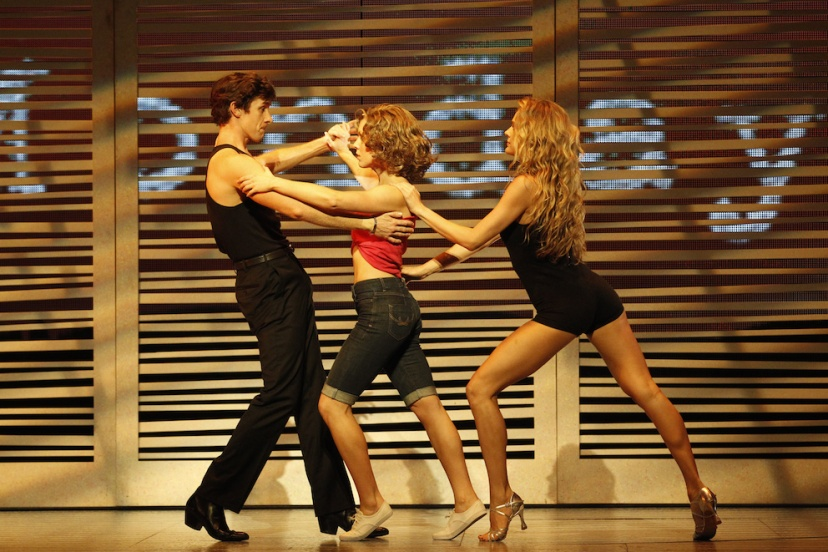 Dirty Dancing musical 2015 Australia, Kurt Phelan (Johnny), Kirby Burgess (Baby), Nadia Coote (Penny)