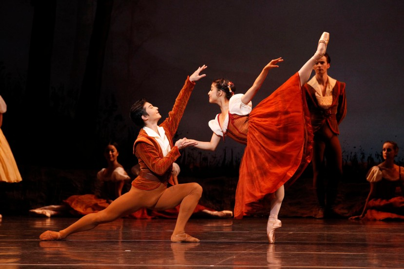 Giselle 2015 The Australian Ballet, Chengwu Guo, Reiko Hombo
