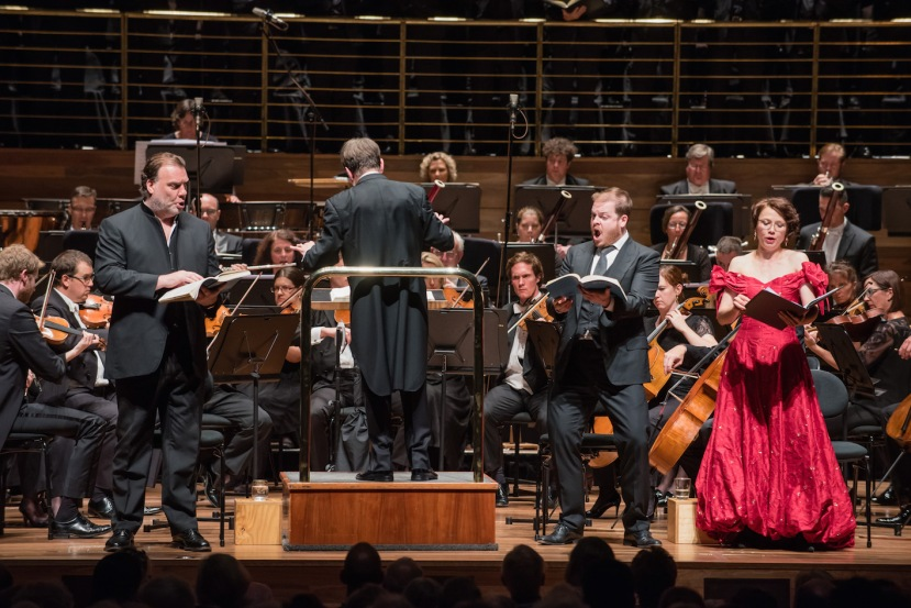 MSO 2015 The Damnation of Faust, Bryn Terfel, Sir Andrew Davis, Andrew Staples and Renata Pokupic
