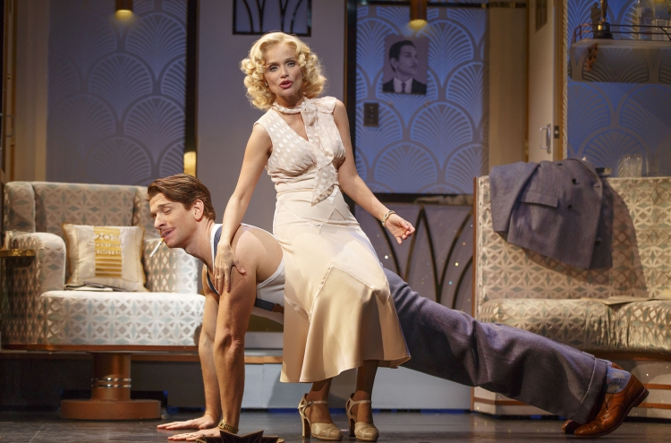 On The Twentieth Century 2015 andy karl, kristin chenoweth