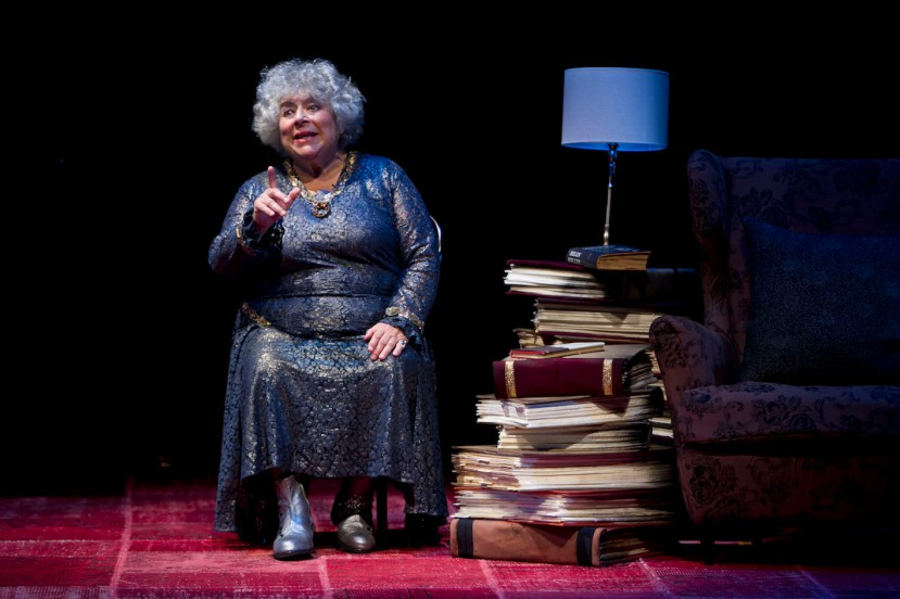 The Importance of Being Miriam, Miriam Margolyes