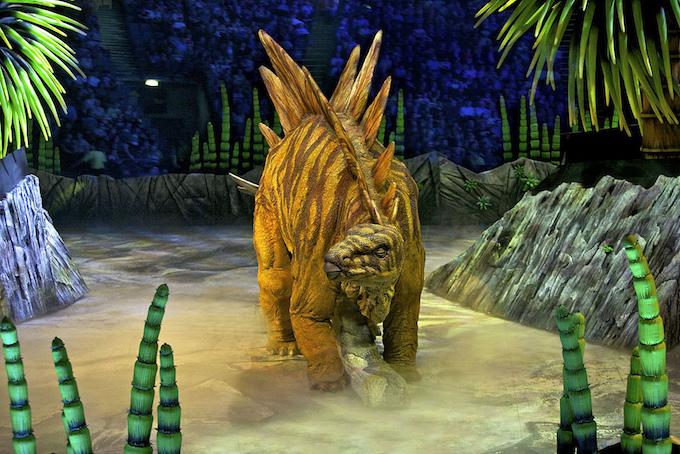 Walking with Dinosaurs Arena Spectacular, Stegosaurus