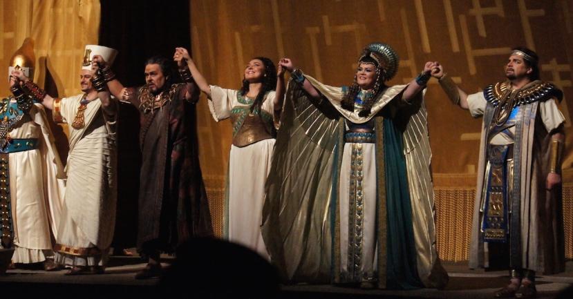 Met Opera Aida 2015