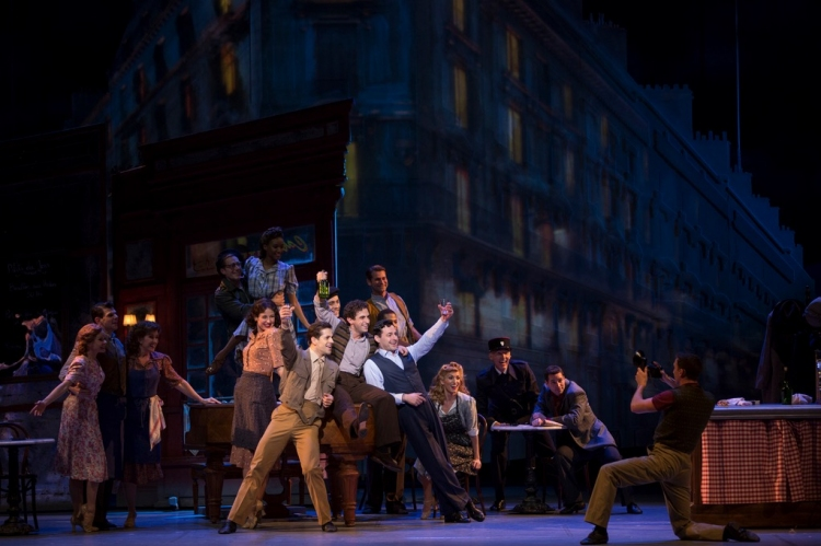 An American in Paris musical cast