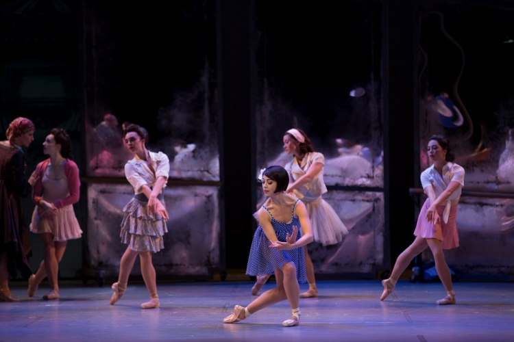 An American in Paris musical, Leanne Cope, chorus