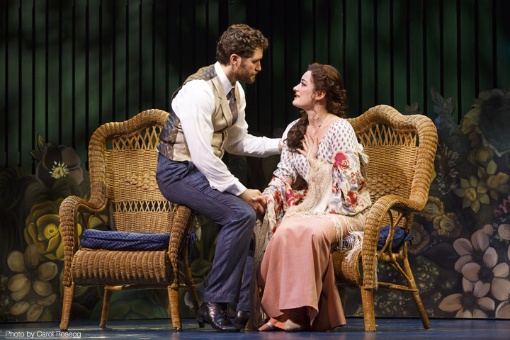Finding Neverland, Broadway, Matthew Morrison and Laura Michelle Kelly