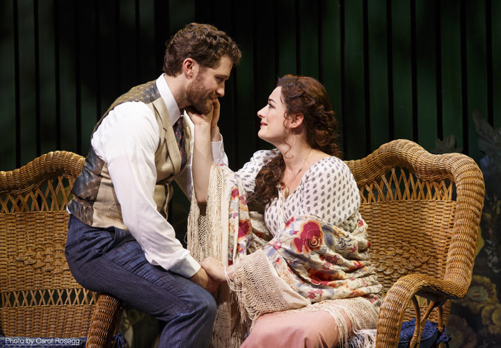 Finding Neverland, Broadway, Matthew Morrison, Laura Michelle Kelly