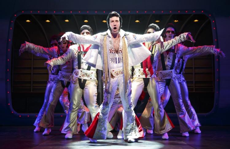 Honeymoon in Vegas musical Broadway