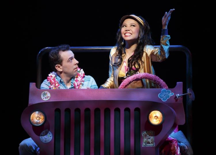 Honeymoon in Vegas musical