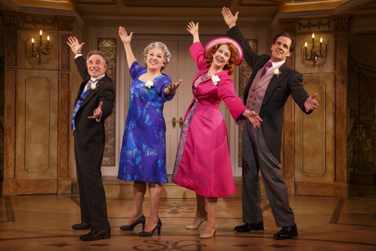 It Shoulda Been You, Broadway, Chip Zien, Tyne Daly, Harriet Harris, Michael X Martin