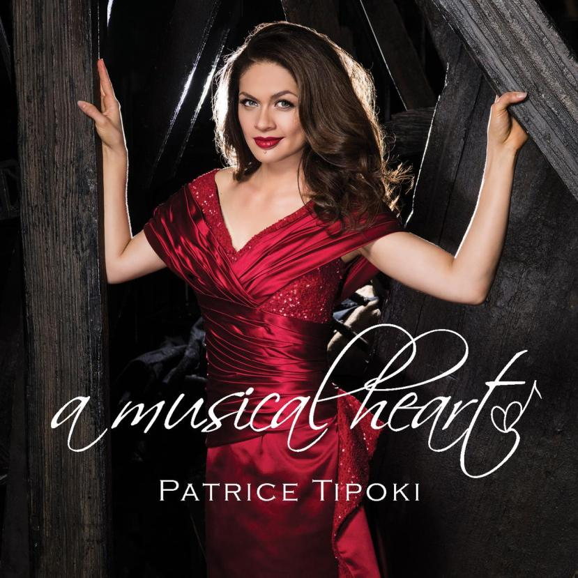 Patrice Tipoki, A Musical Heart cd cover