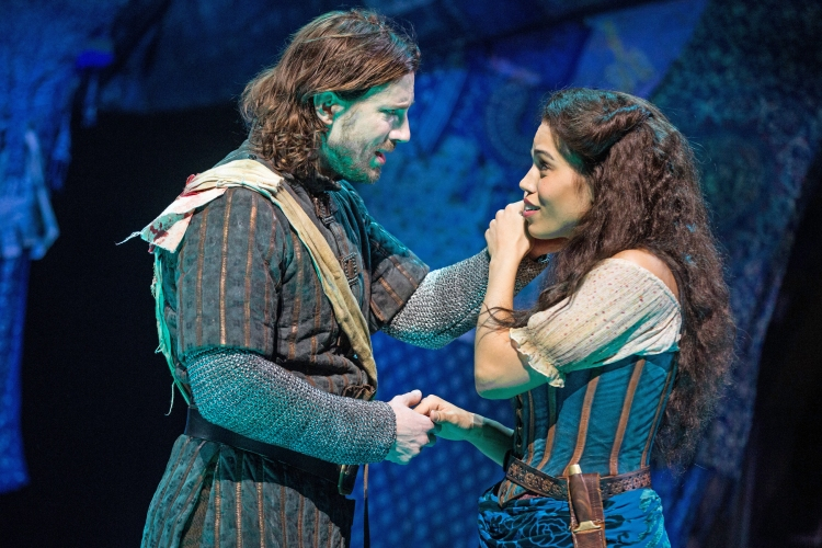 The Hunchback of Notre Dame musical, Disney, Papermill Playhouse,, Andrew Samonsky, Ciara Renee
