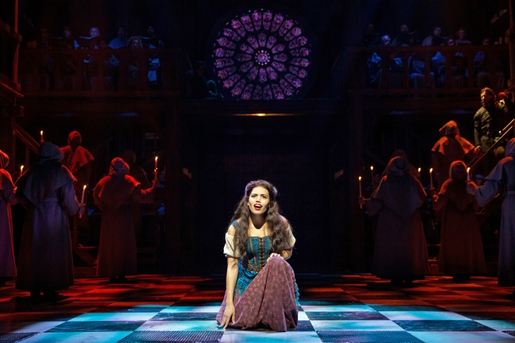 The Hunchback of Notre Dame musical, Disney, Papermill Playhouse, Ciara Renee,