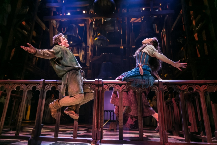 The Hunchback of Notre Dame musical, Disney, Papermill Playhouse, Michael Arden, Ciara Renee