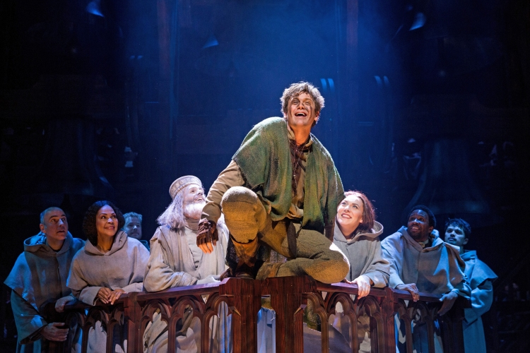 The Hunchback of Notre Dame musical, Disney, Papermill Playhouse, Michael Arden