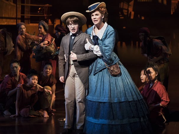 The King and I 2015 Broadway, Jake Lucas, Kelli O'Hara