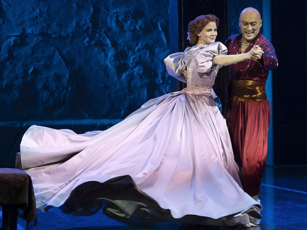 The King and I 2015 Broadway, Kelli O'Hara, Ken Watanabe, Shall We Dance
