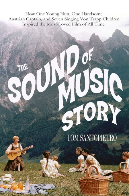 The Sound of Music Story book cover