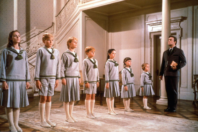 The Sound of Music, Von Trapp children, Christopher Plummer