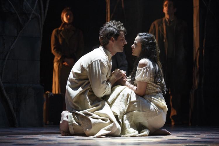 The Visit, Broadway, John Riddle, Michelle Veintimilla