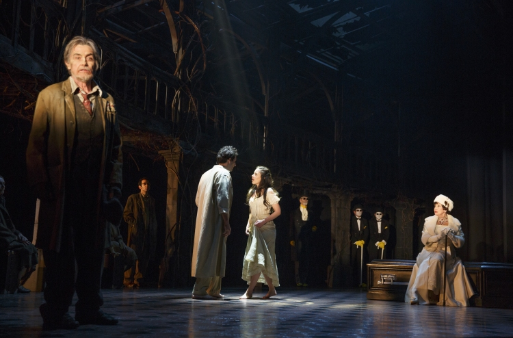 The Visit, Broadway, The Visit cast