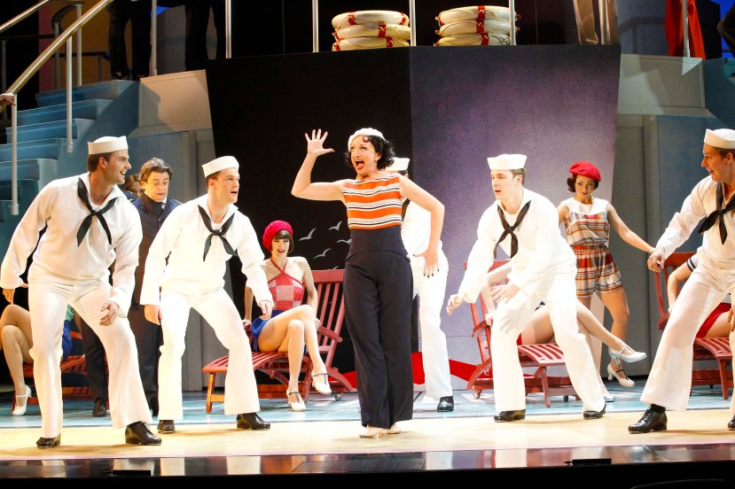 Anything Goes 2015 Caroline O'Connor, tapdancing sailors