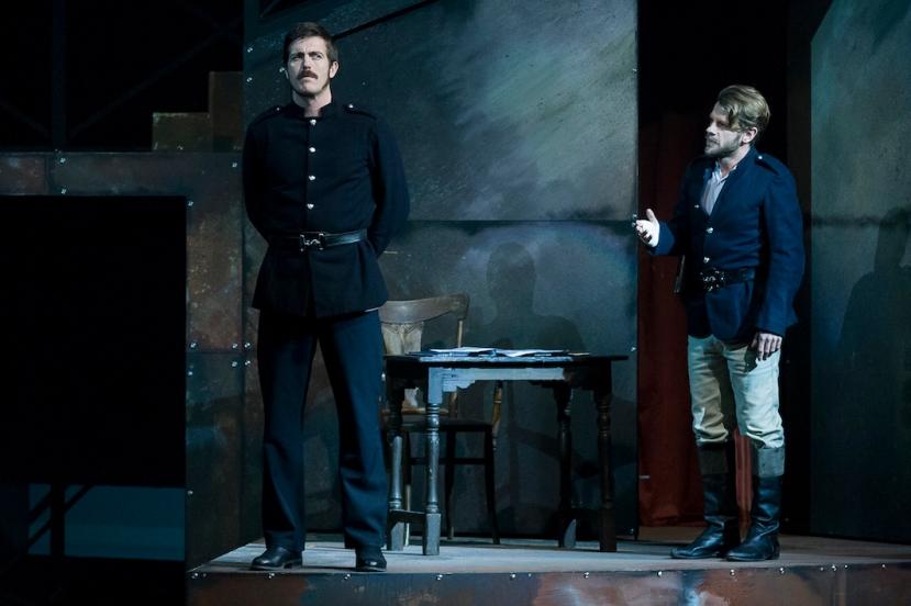 Ned Kelly Musical, Andrew Broadbent, Nick Simpson-Deeks